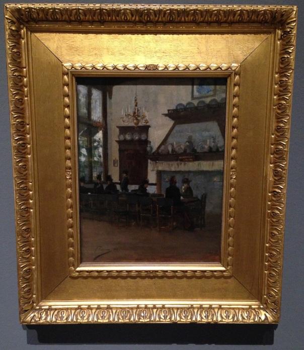 The Dutch Cocoa House at the Glasgow International Exhibition, John Lavery 1888 (Scottish National Gallery, Edinburgh)